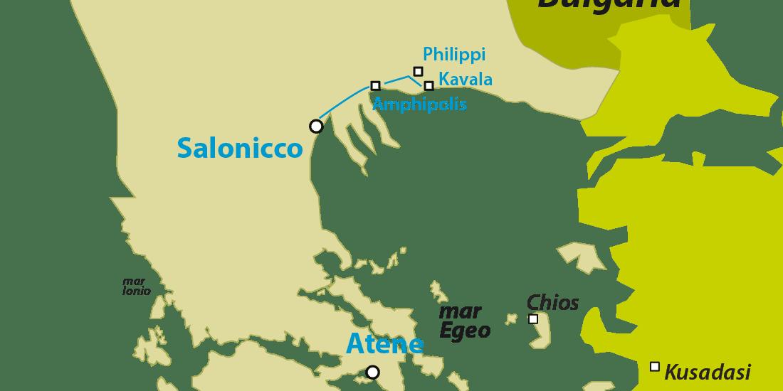 amphipolis philippi kavala
