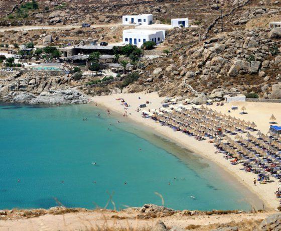 Crociera alle spiagge più belle di Mykonos