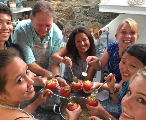 Corso di cucina a Mykonos degustazione