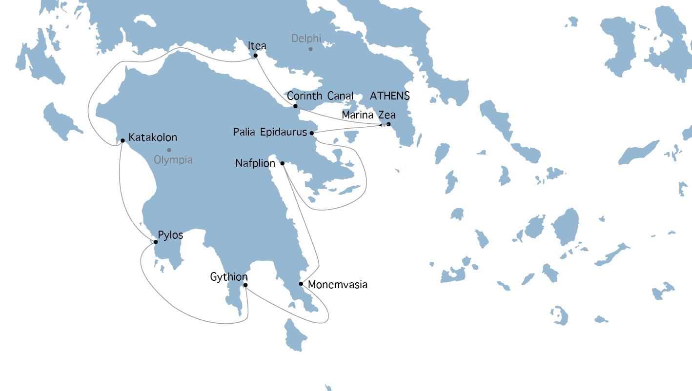 Crociera Antichità a Bisanzio Variety Cruises in barca a vela