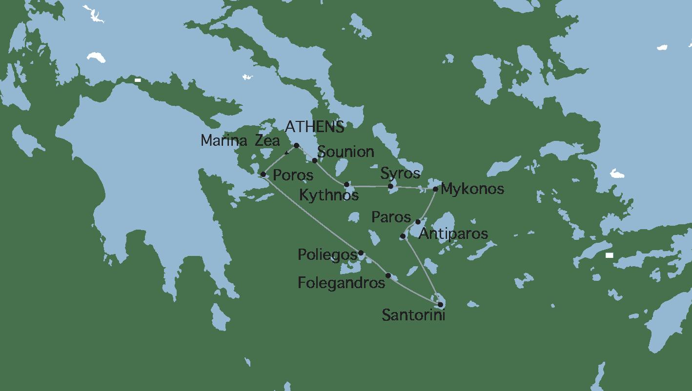 Crociera Variety Cruises Gioielli delle Cicladi
