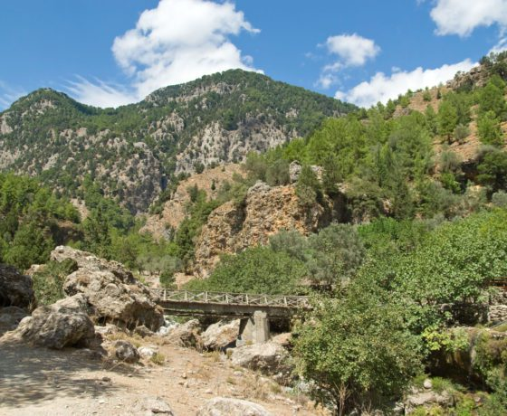 Esplora la natura di Creta gola di Samaria